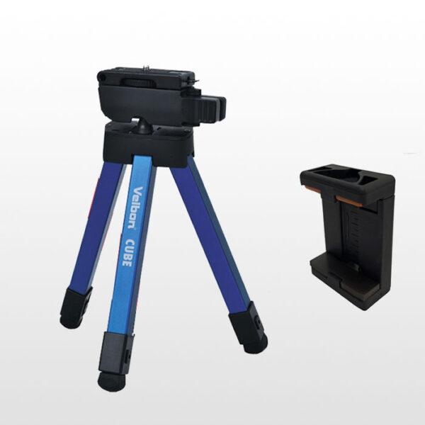 پایه نگهدارنده موبایل ولبون Velbon Cube blue