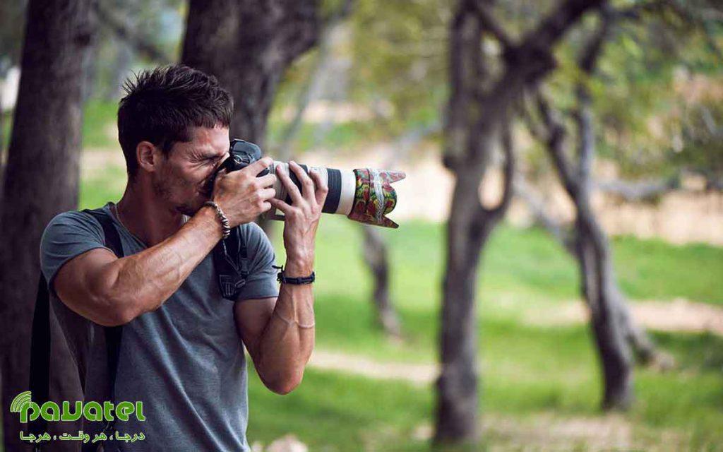 کاهش لرزش دوربین در زمان عکاسی