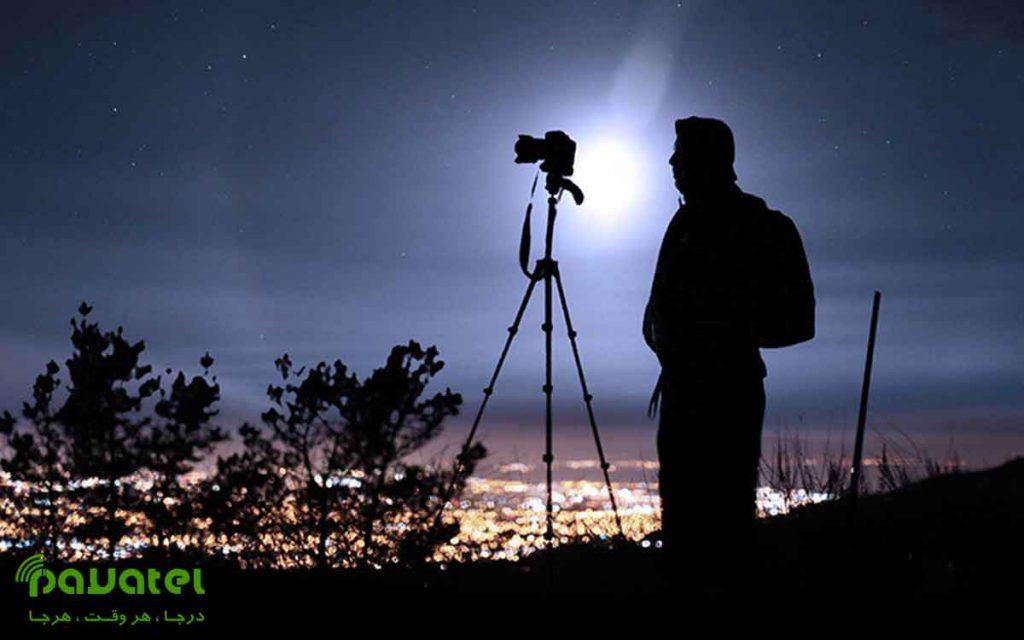 فوکوس در عکاسی از شب