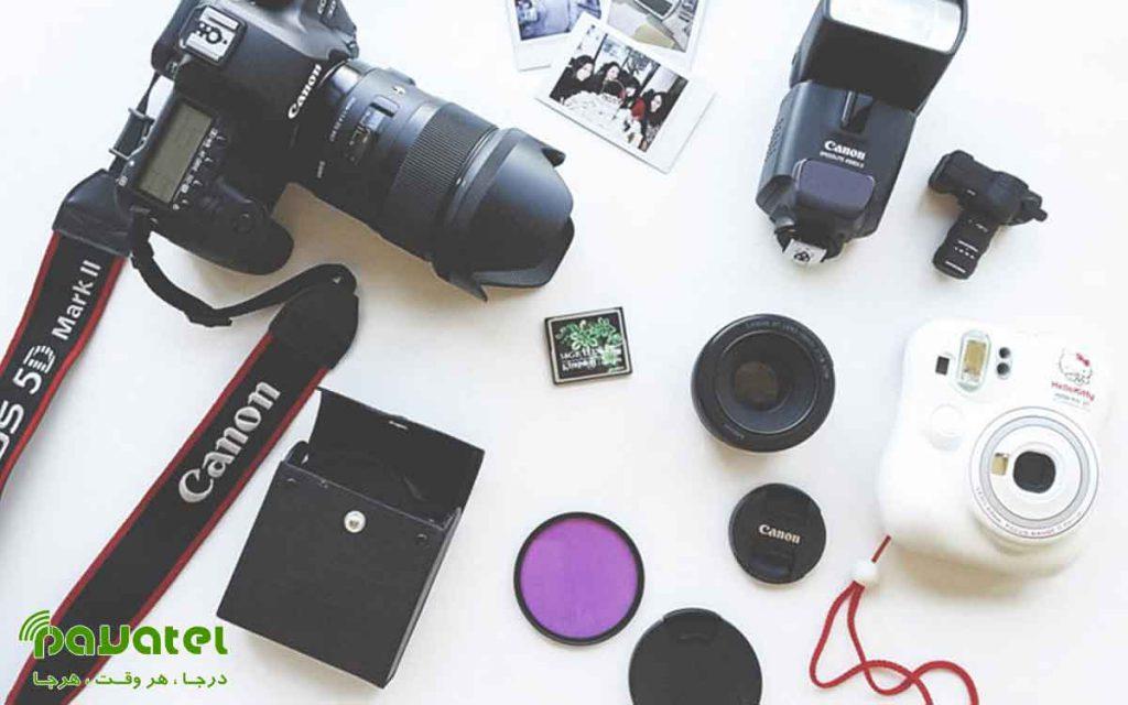 تجهیزات ضروری برای شروع عکاسی