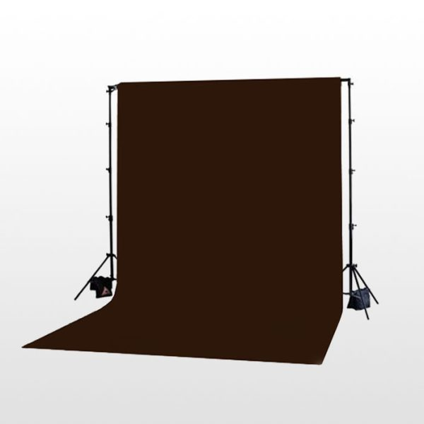 فون بک گراند قهوه ای مخمل Backdrop Brown 2x3m