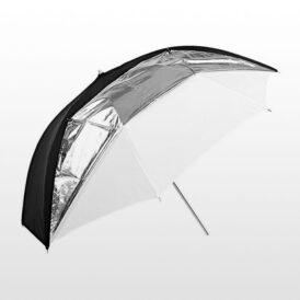 چتر گودکس Godox Umbrella UB-006 black/silver/white Dual Duty 101cm
