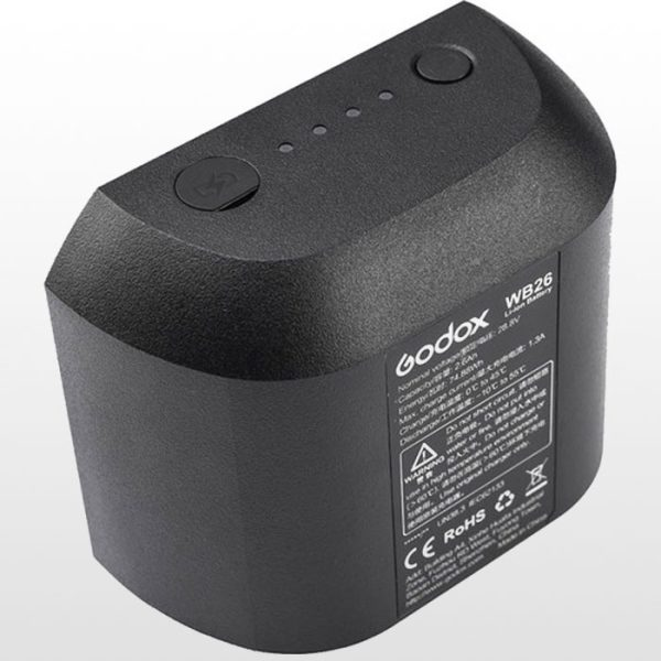 باتری گودکس Godox WB26 Lithium-Ion Battery for AD600Pro Flash