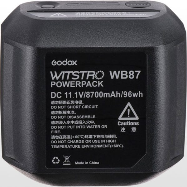 باتری گودکس Godox WB87 Battery for AD600-Series Flash Heads