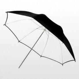 چتر داخل سفید Harmony Umbrella Black/White 101cm