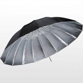 چتر پارابولیک داخل نقره ای لایف Life of photo Umbrella 150cm AU48H series