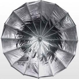 چتر عمیق پارابولیک داخل نقره ای لایف Life of photo Umbrella 85cm AU48SH series