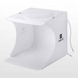 خیمه پلوز ال ای دی دار Puluz 40×40 2xLEDs Light Tent
