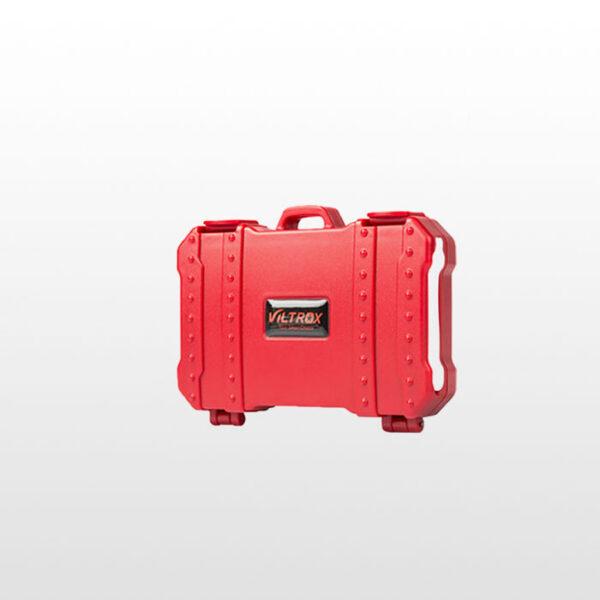 کیف کارت حافظه و کارت خوان ویلتروکس Viltrox CP-100 USB3.0 red