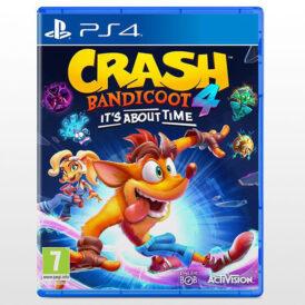 بازی پلی استیشن ۴ ریجن 2-Crash Bandicoot 4