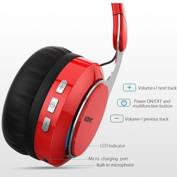 هدست گیمینگ Nubwo S8 - قرمز