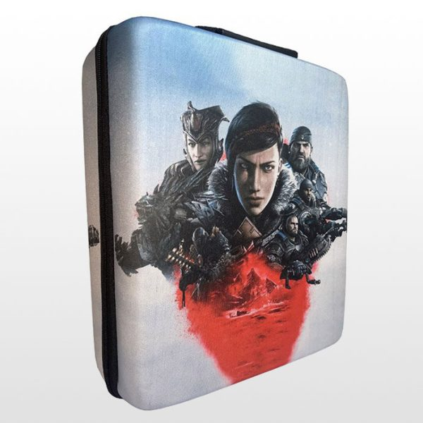 کیف ضد ضربه پلی استیشن ۴ پرو طرح Gears 5