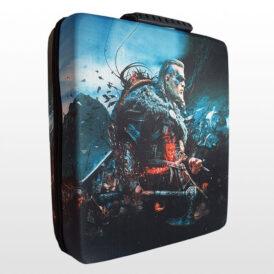 کیف ضد ضربه پلی استیشن ۴ پرو طرح Assassin's Creed Valhalla