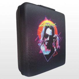 کیف ضد ضربه پلی استیشن ۴ پرو طرح Cyberpunk 2077