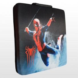 کیف ضد ضربه پلی استیشن ۴ پرو طرح Spide-Man