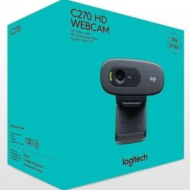 وب کم لاجیتک WEBCAM C270 HD USB BLACK
