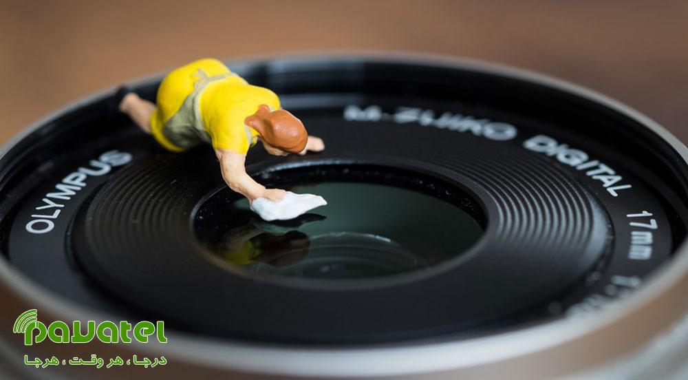 محافظت از لنز دوربین در برابر قارچ خوردگی