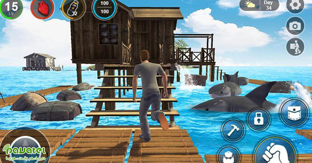 بازی Raft