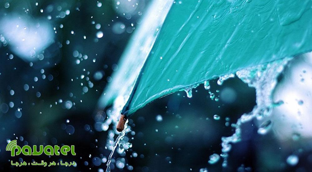 عکاسی زیر باران