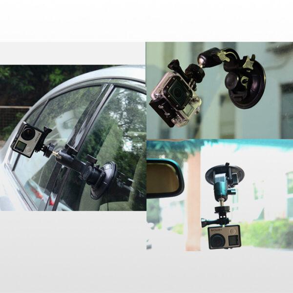 Sport Camera Car Suction Cup Bracket Mount Holder