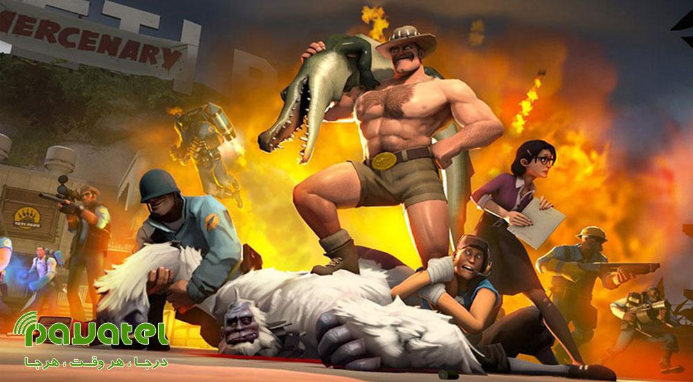 بازی Team Fortress 2