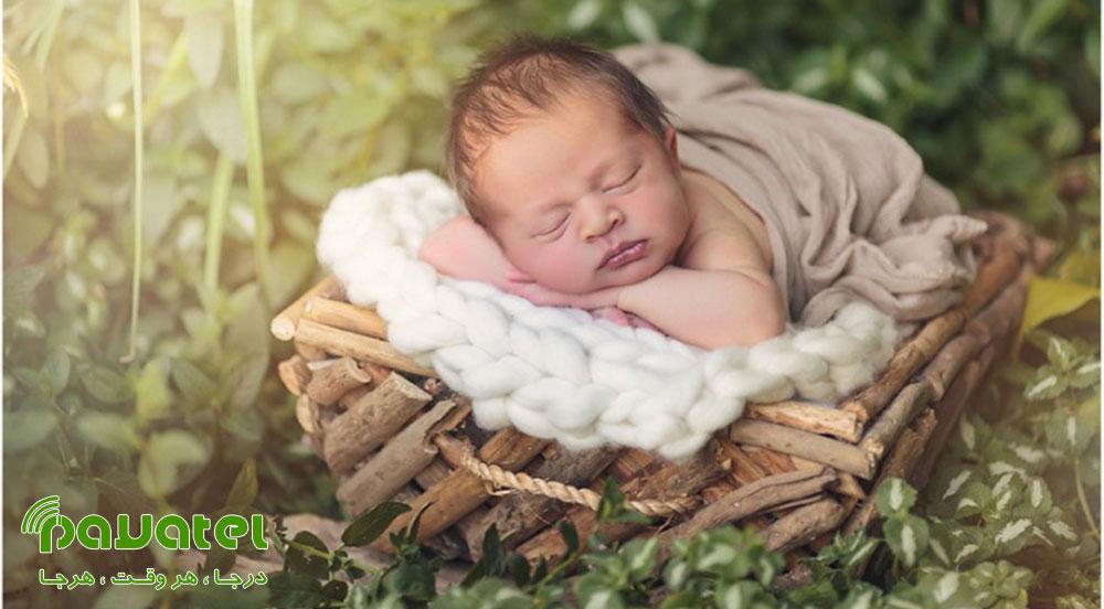 انتخاب لباس نوزاد برای عکاسی