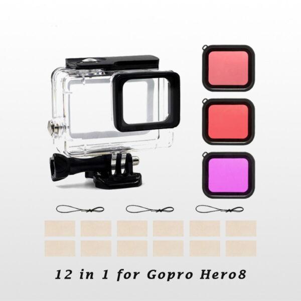 Gopro Hero8 Combo Kit 12 in 1