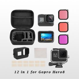Gopro Hero8 Combo Kit 12 in 1