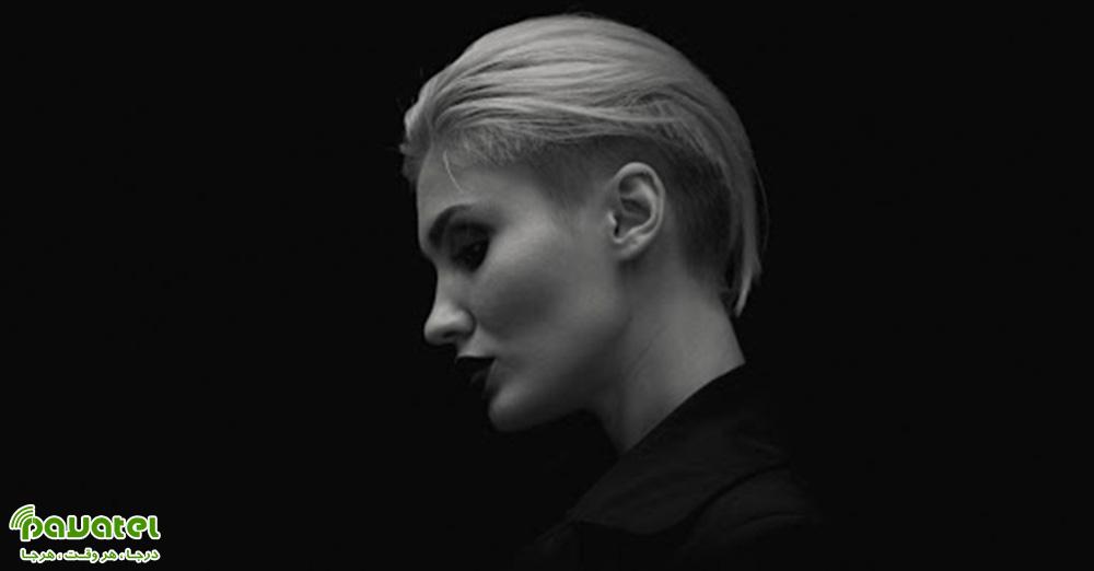 عکاسی سیاه و سفید از چهره