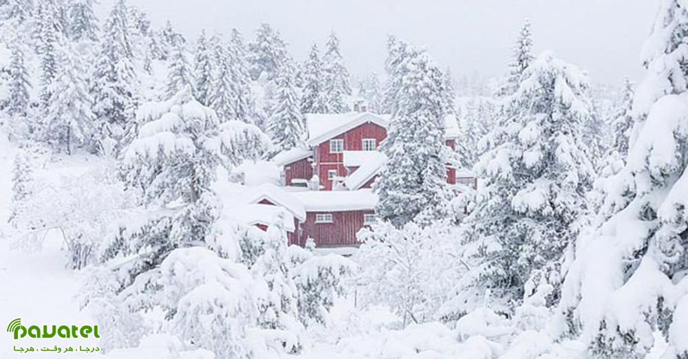 عکاسی از برف
