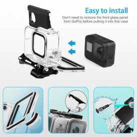 Gopro 8 waterproof touch screen case