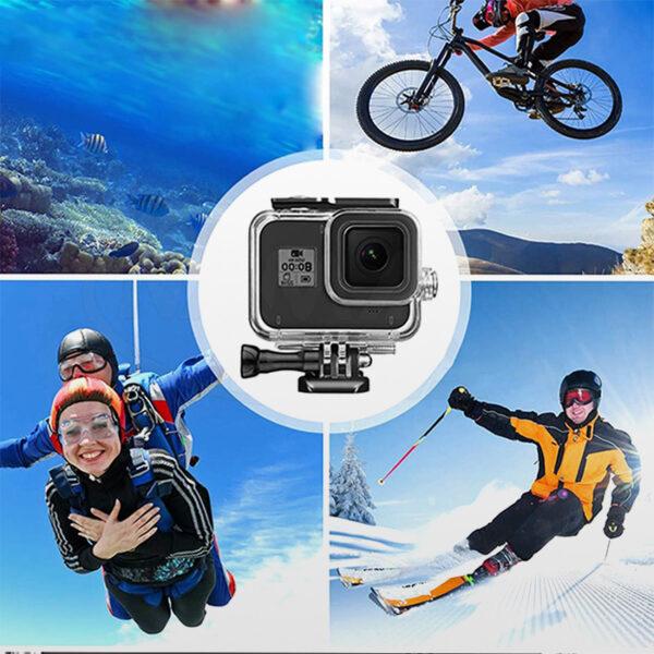 Gopro 8 waterproof touch screen case