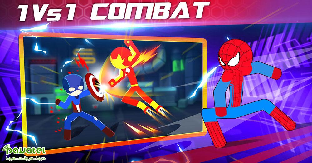 بررسی بازی Super Stickman Heroes Fight