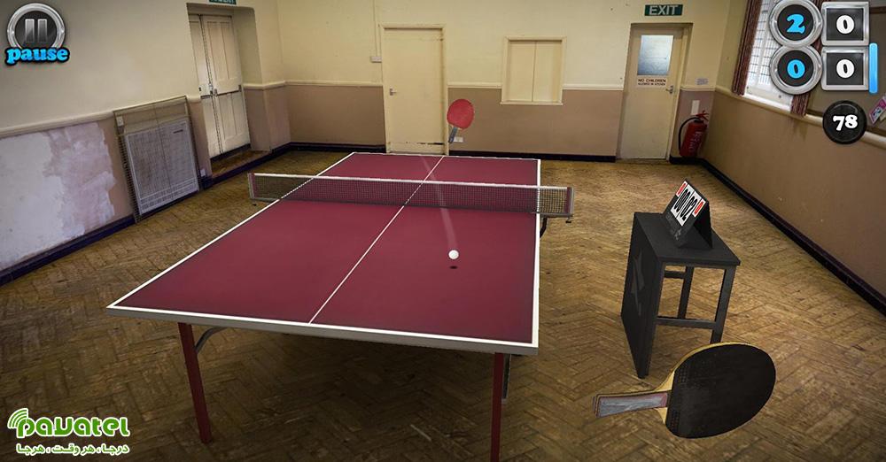 بررسی بازی موبایل Table Tennis Touch