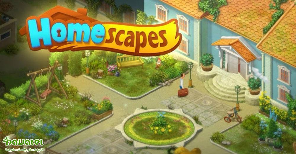 بررسی بازی Homescapes