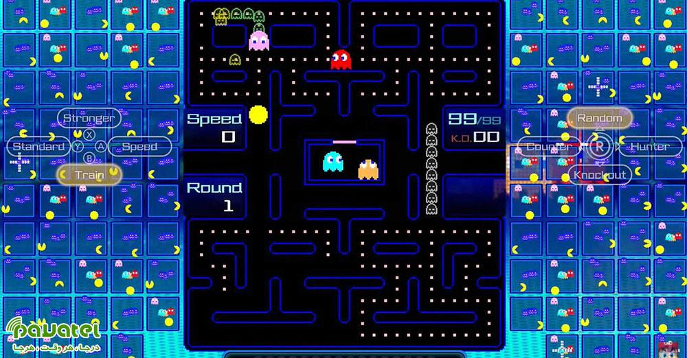 بازی Pac-Man 99 برای نینتندو سوییچ