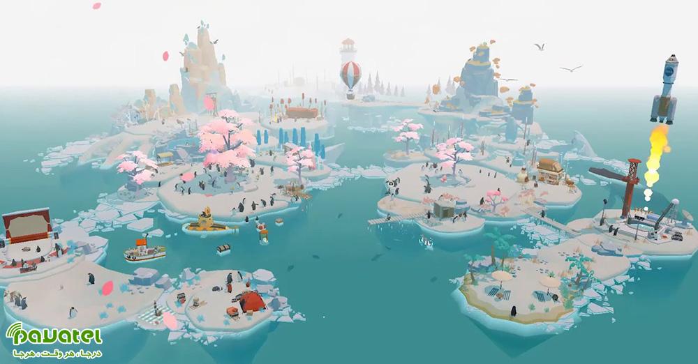 بررسی بازی Penguin Isle