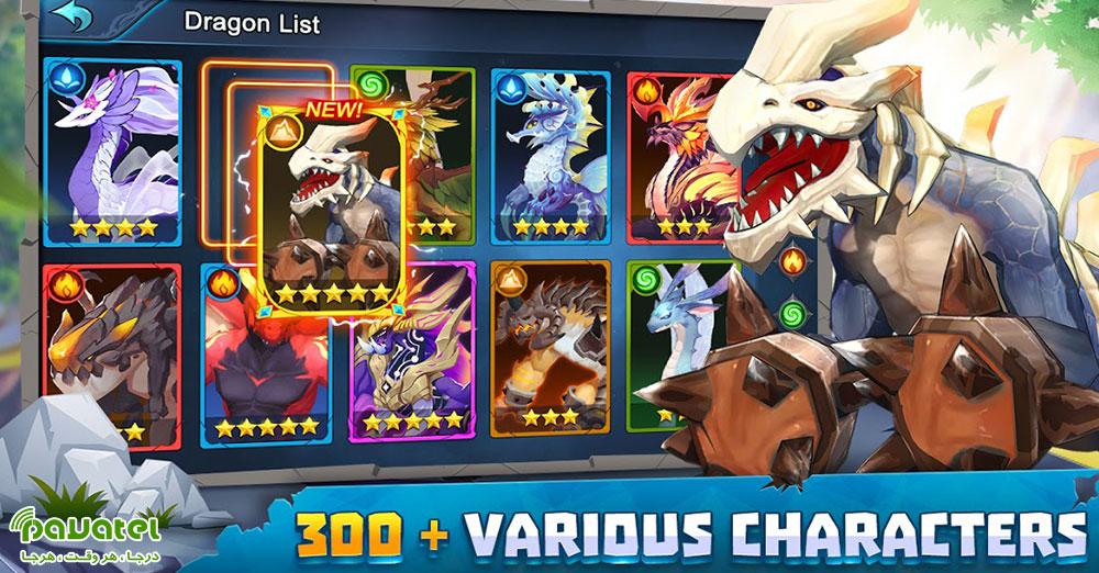 بررسی بازی Summon Dragons