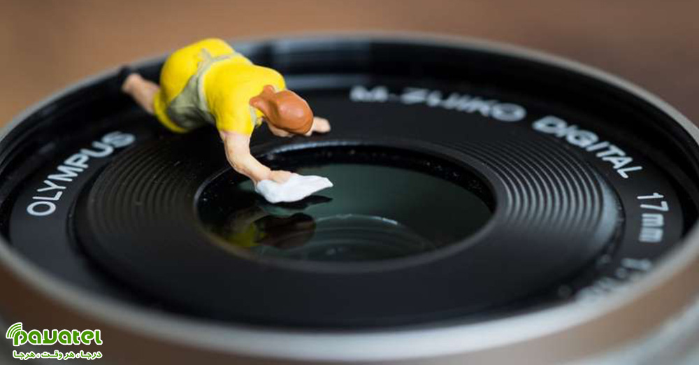 تمیزکردن دوربین عکاسی