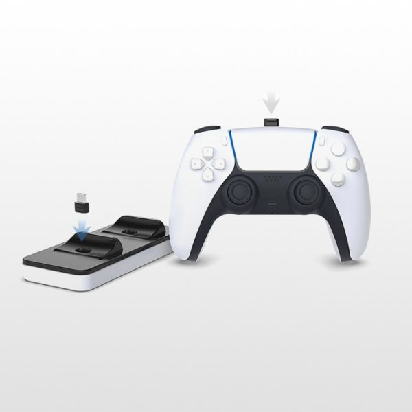 پایه شارژر کنترلر پلی استیشن 5 Dobe Charging Dock PS5