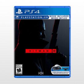 بازی پلی استیشن 4 ریجن 2 - Hitman III- VR