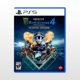 بازی پلی استیشن 5 - Monster Energy Supercross 4: The Official Videogame