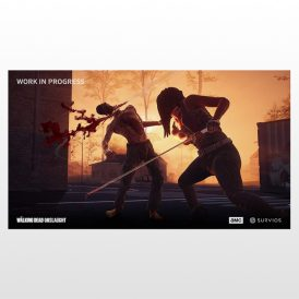 بازی پلی استیشن 4 ریجن 2 - The Walking Dead: Onslaught-VR