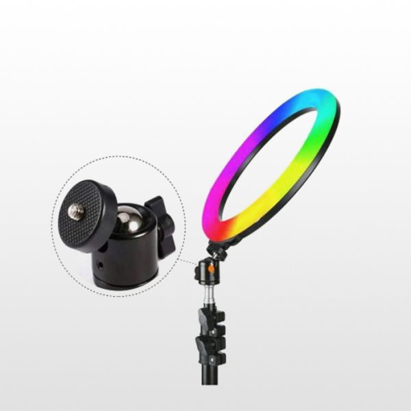 رینگ لایت YQ-350 RGB RING LIGHT