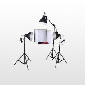 کيت خیمه + 3 شاخه نور Digital Light Kit KT 502