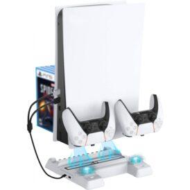 پایه چند کاره مخصوص پلی استیشن 5 Dobe Multifunctional Cooling Stand