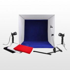 کیت خیمه با نورثابت کم مصرف Light Tent Kit 50x50cm
