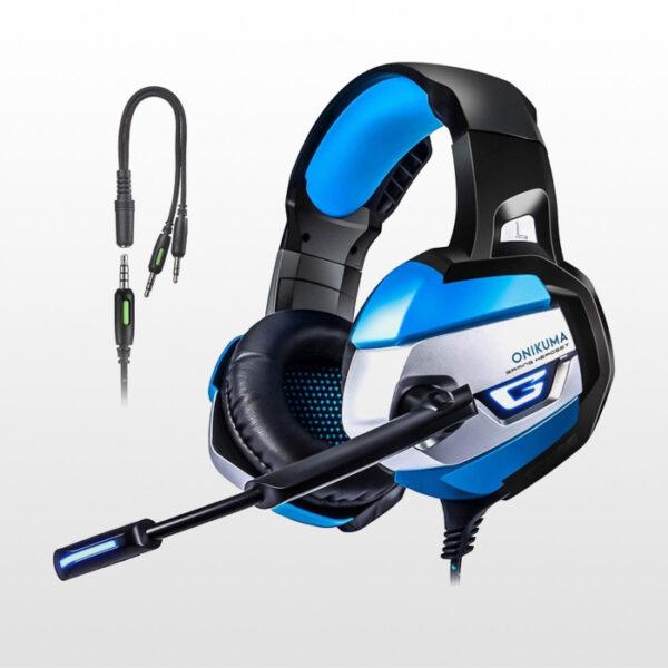 هدست گیمینگ Onikuma K5 pro -Blue