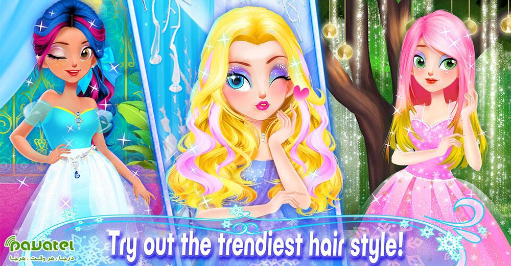 Princess Hair Salon – Makeup Dress Up