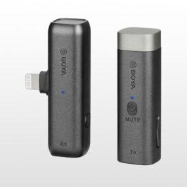 ميکروفن بويا BOYA BY-WM3D Microphone+Lightning Adaptor